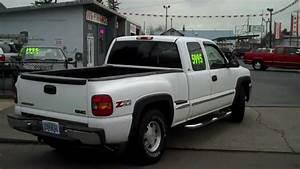 1999 Gmc Sierra 1500 Pickup Extended Z71 Sle 4x4 Short Bed