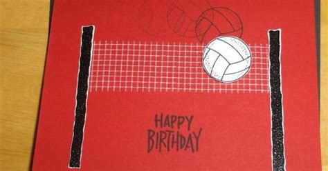 Volleyball Birthday by cardminister - Cards and Paper ...