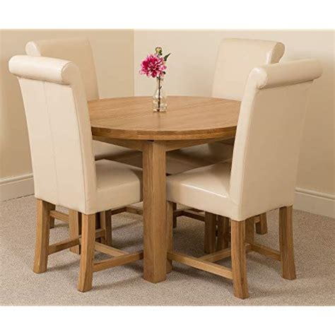 kitchen furniture edmonton oak and ivory dining table and chairs co uk