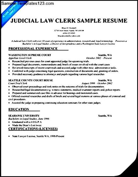 resume templates office clerk 28 images free