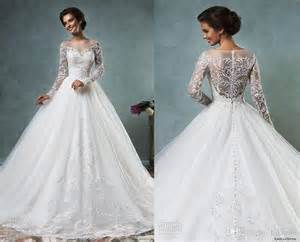 selling wedding dress bridal gowns best selling 2016 new amelia sposa wedding dresses tulle applique a line