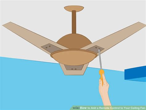 add remote control to ceiling fan how to add a remote control to your ceiling fan 10 steps