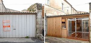 il transforme un garage en un somptueux appartement With transformer un garage en logement