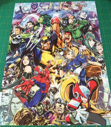 Marvel Vs Capcom 3 Large Arcade Poster 50x70cm Arcade