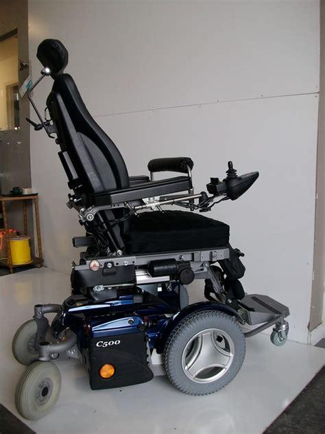 permobil   standing power chair  seat lift tilt