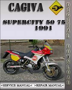 1991 Cagiva Supercity 50 75 Factory Service Repair Manual