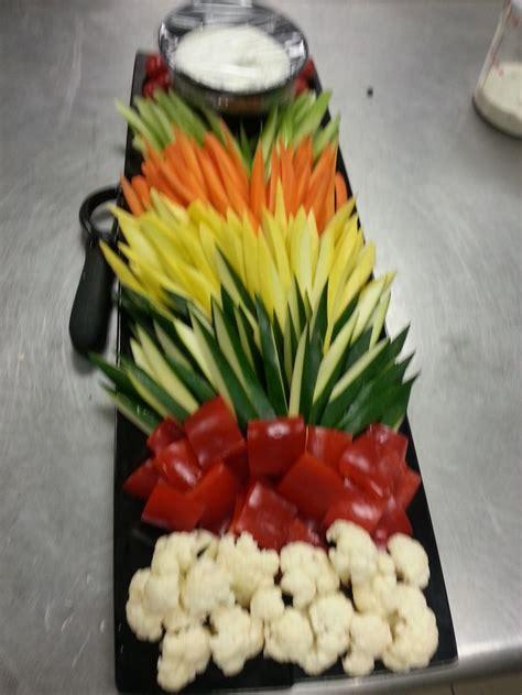 buffet cuisine pin layered crudite my food crafts best food ideas