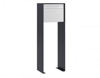 briefkasten anthrazit freistehend design briefkasten huber stebler und planetstar briefkastendirekt ch