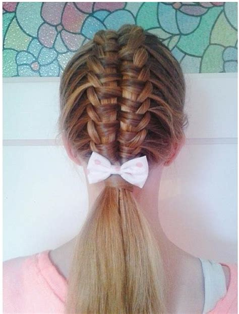 suspended infinity braid hairstyles how to