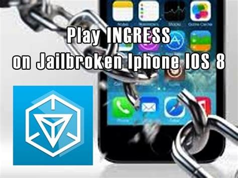 Play Ingress by How To Play Ingress On Jailbroken Iphone Ios 8