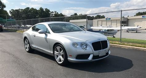 Bentley Continental Gt/gtc Rental Atlanta