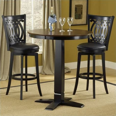 hillsdale dynamic designs 5 pub table and stools set