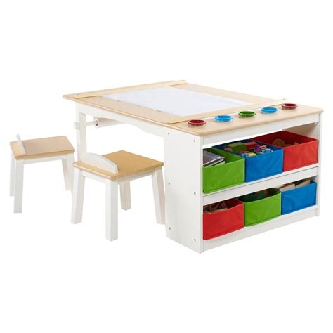 Activity Station Desk by Guidecraft Arts And Crafts Center Tables Desks At