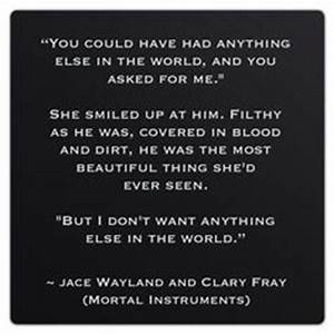 1000+ images about The Mortal Instruments: Book Quotes on ...