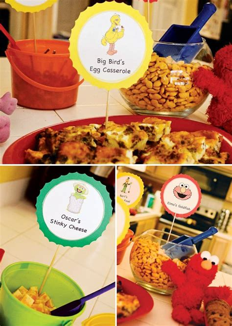 There are 167 sesame street food for sale on etsy, and they cost nz$16.08 on average. Colorful DIY Sesame Street Birthday Party // Hostess with the Mostess®