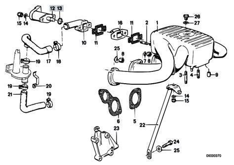 Bmw E30 Part Diagram by Original Parts For E30 318i M10 4 Doors Engine Intake