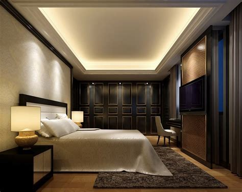 Interior Design Modern Bedroom, Elegant Bedroom Interior