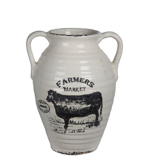 Large White Vase by Large White Ceramic Farmhouse Vase Walmart