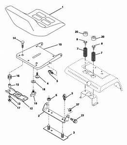 Craftsman Gt5000 Mower Deck Belt Diagram