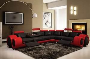 canape d39angle vendome en cuir haut de gamme italien With tapis rouge avec canapé contemporain haut de gamme