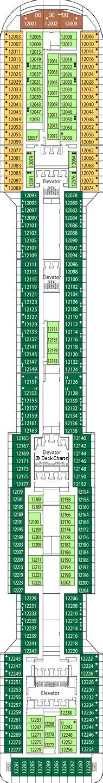 Msc Divina Deck Plan 12 by Msc Divina Deck 12 Deck Cruise Critic
