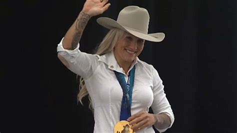 kaillie humphries named  calgary stampede parade