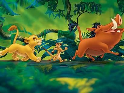 Lion King Timon Simba Pumbaa Disney Desktop
