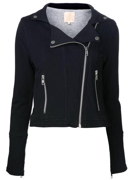 jacket moto lyst chaser moto jacket in black