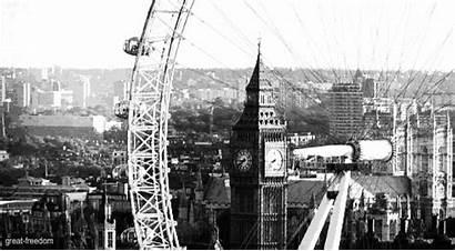 London Wheel Ferris Gifs Giphy Eye Ben