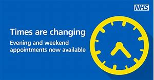 Image result for nhs times are changing in improved access