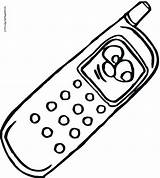 Coloring Phone Cell Pages Telephone Megaphone Getdrawings Drawing Printable Getcolorings Colorings sketch template