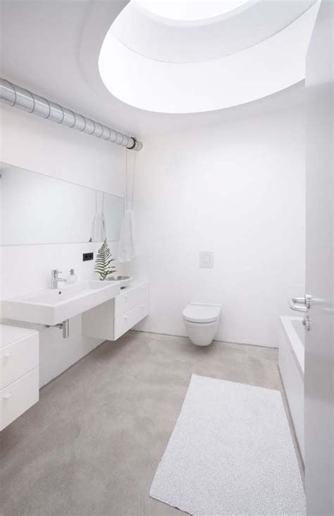 Bathroom Floors Photos by 31 Concrete Flooring Ideas With Pros And Cons Digsdigs