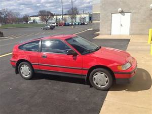 1988 Honda Crx Si In Excellent Condition  For Sale  Photos