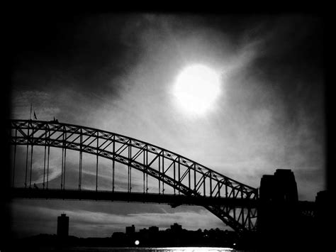 Albion Harrison Naish's Black And White Sydney Iphone
