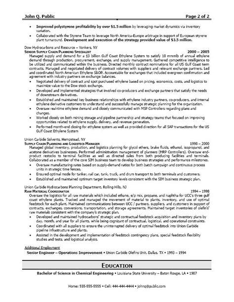 20269 exle management resume logistics manager resume exle q writing