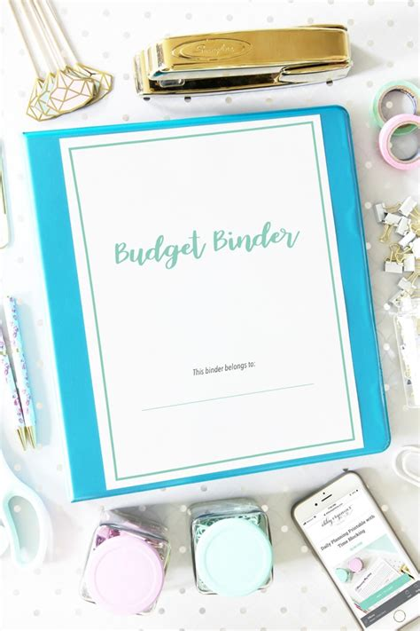 budget binder     printables abby lawson
