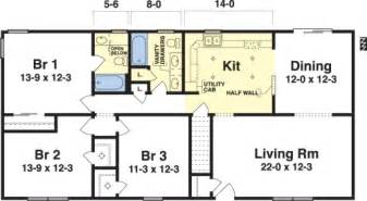 3 bedroom house plans one story mansfield by simplex modular homes ranch floorplan