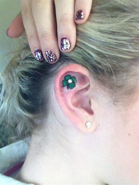 leaf clover tattoos