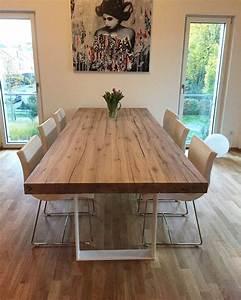 Tisch Aus Holz : esstisch massivholztisch holztisch eichentisch dinningtable tisch aus eichenholz holz nach ma ~ Watch28wear.com Haus und Dekorationen