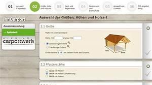 Carport Online Konfigurator : carport kalkulator auf carport ~ Sanjose-hotels-ca.com Haus und Dekorationen
