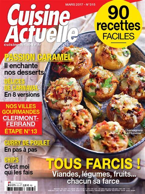 cuisine actuelle cuisine actuelle digital magazine discountmags com