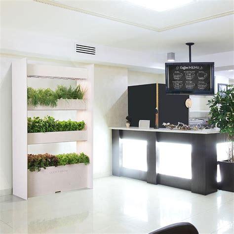 Indoor Vertical Garden by The Wall Farm Indoor Vertical Garden Click Grow