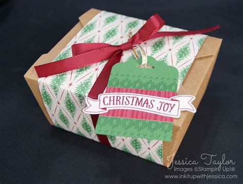 christmas gift boxes ink it up with jessica card