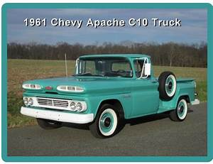 1961 Chevy Apache C10 Short Bed Truck Refrigerator    Tool