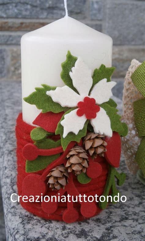 decorare candele per natale decorare candele per natale 蝣i蝪ky manualidades navidad