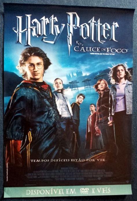 Harry potter e o cálice de fogo (2005). Poster Original Harry Potter E O Cálice De Fogo - 60 X 90 Cm - R$ 39,90 em Mercado Livre