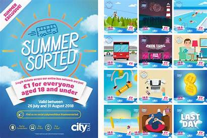 Plymouth Citybus Campaign Sorted Summer