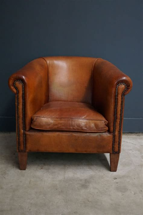 vintage club chair vintage leather club chair 1970s for at pamono 3172