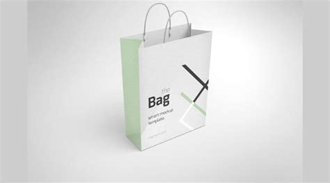 shopping bag mockups psd  design trends