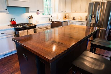 Walnut Kitchen Island   Maryland Wood Countertops
